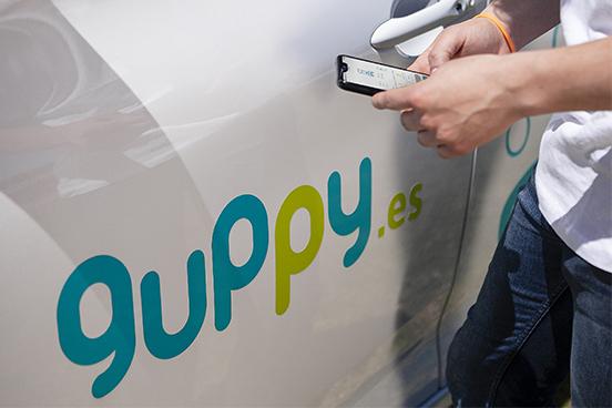 Aplicación de car sharing en Asturias